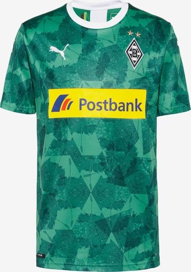 PUMA Fußballtrikot 'Borussia Mönchengladbach 19/20 3rd' in senf / dunkelgrün, Produktansicht
