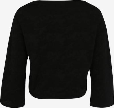 Urban Classics Curvy Shirt 'Jacquard Camo' in schwarz: Rückansicht