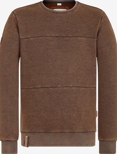 naketano Sweatshirt in braun, Produktansicht
