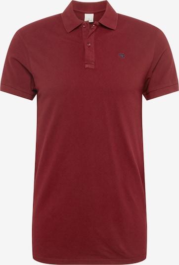 SCOTCH & SODA Shirt in de kleur Wijnrood: Vooraanzicht