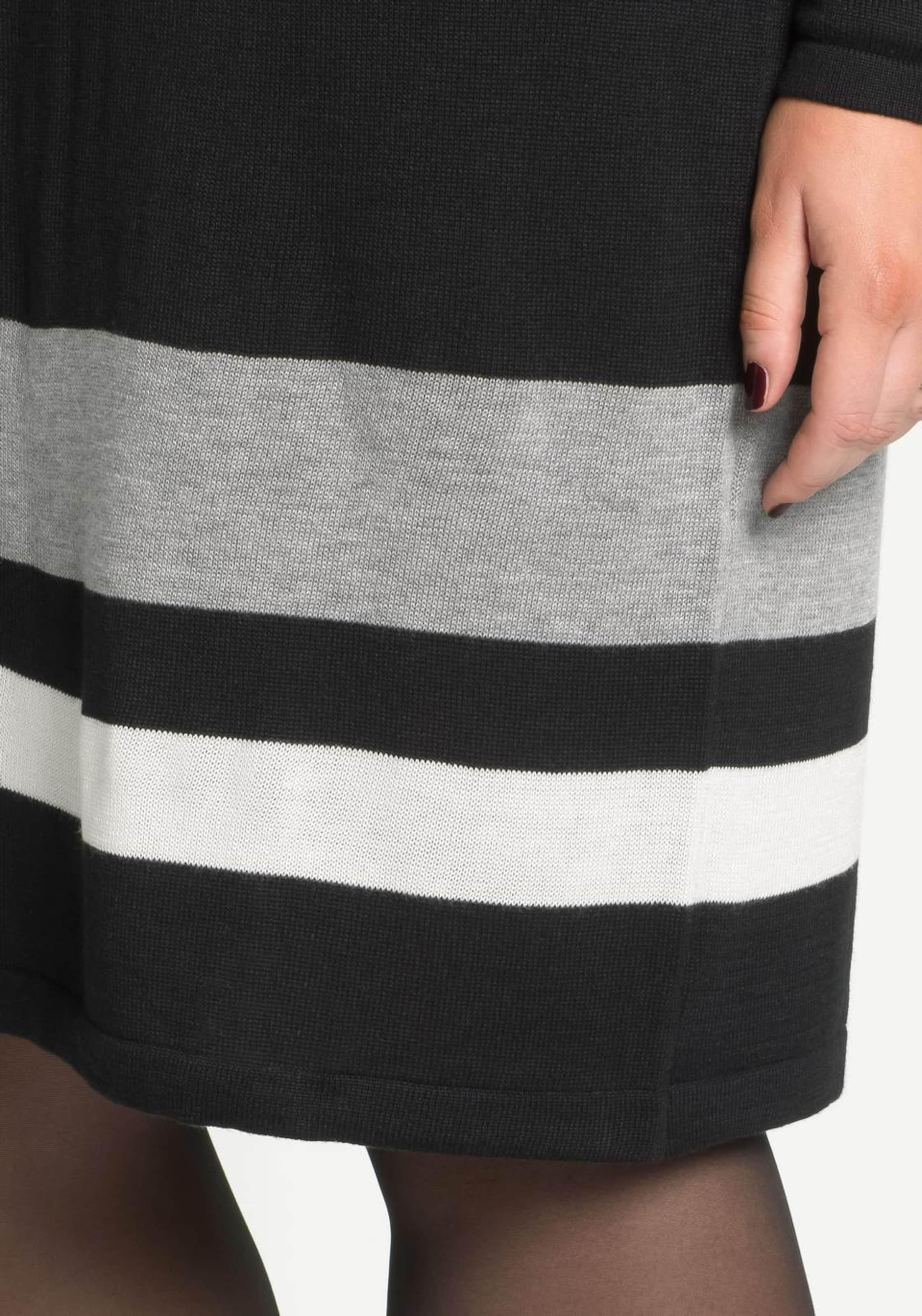 Billig Zu Kaufen Professionel sheego style Strickkleid Billig Verkauf Am Besten Freies Verschiffen Bilder QibVAH