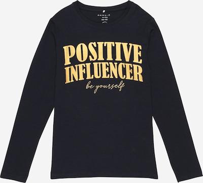 NAME IT Koszulka 'NOALA' w kolorze ciemny niebieski / żółtym, Podgląd produktu