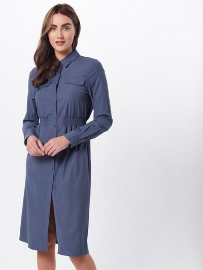 OBJECT Blusenkleid in blau, Modelansicht