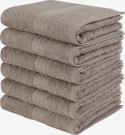 MY HOME Handtücher in taupe, Produktansicht