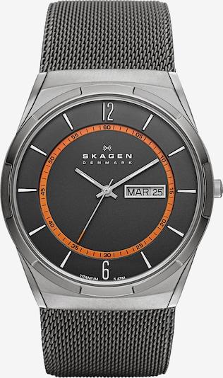 SKAGEN Armbanduhr 'MELBYE' in graphit, Produktansicht