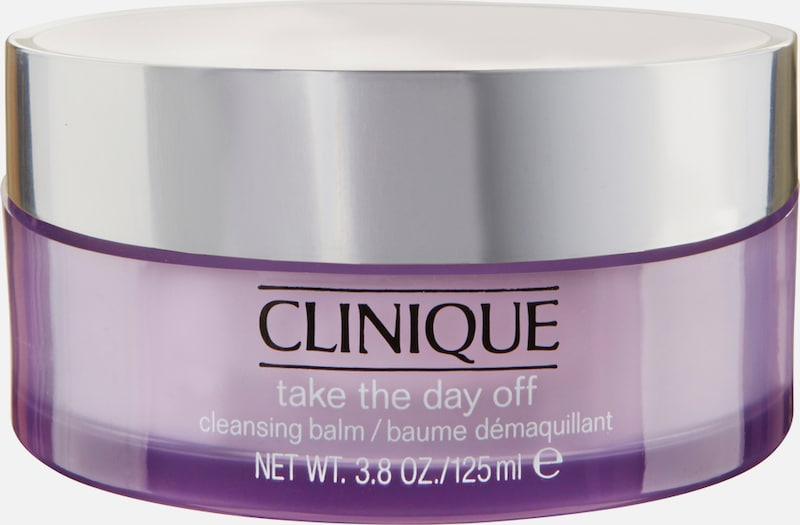CLINIQUE 'Take The Day Off Cleansing Balm', Reinigungsmilch in lila, Produktansicht