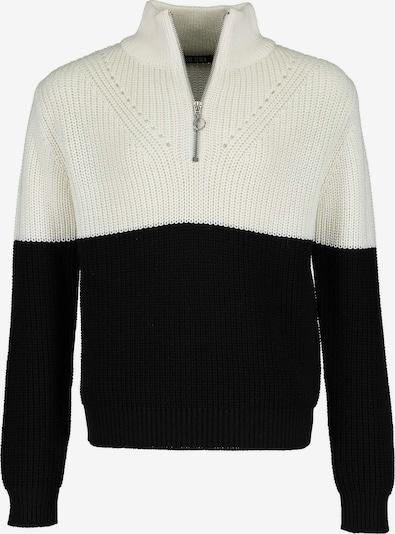 BLUE SEVEN Pullover in schwarz / weiß, Produktansicht