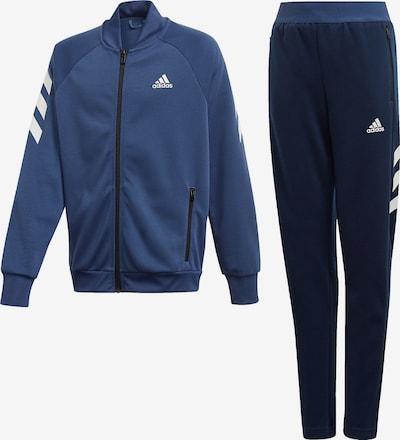 ADIDAS PERFORMANCE Trainingsanzug in nachtblau / enzian / weiß, Produktansicht