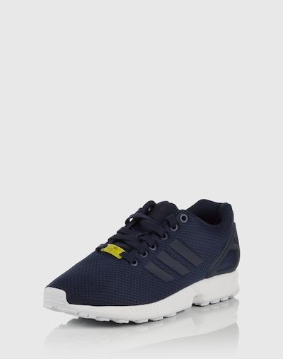 ADIDAS ORIGINALS Sneaker 'ZX Flux' in navy / gelb, Produktansicht