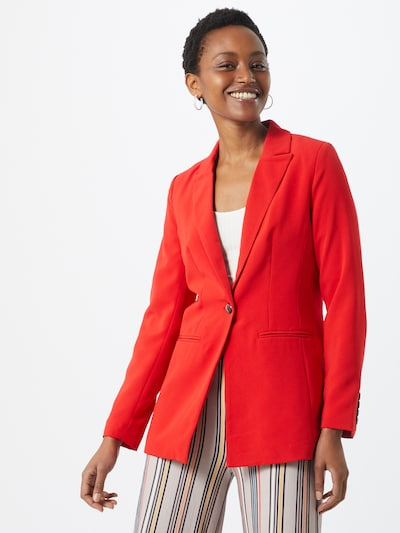 ONLY Blazer 'MINNA' in rot, Modelansicht