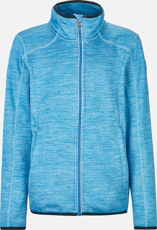 KILLTEC Trainingsjacke 'Manleyno' in blau / aqua: Frontalansicht
