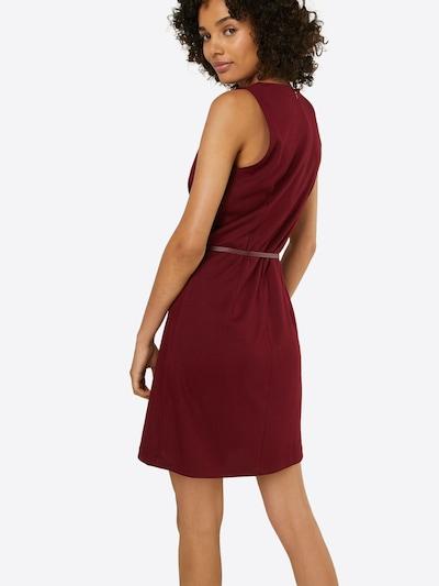 ABOUT YOU Kleid 'Ludmilla Dress' in burgunder: Rückansicht