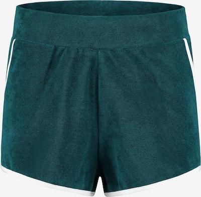 Shiwi Spodnie 'Ladies terry short' w kolorze szmaragdowym, Podgląd produktu