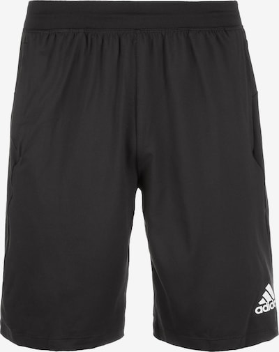 ADIDAS PERFORMANCE Sportbroek in de kleur Zwart / Wit, Productweergave