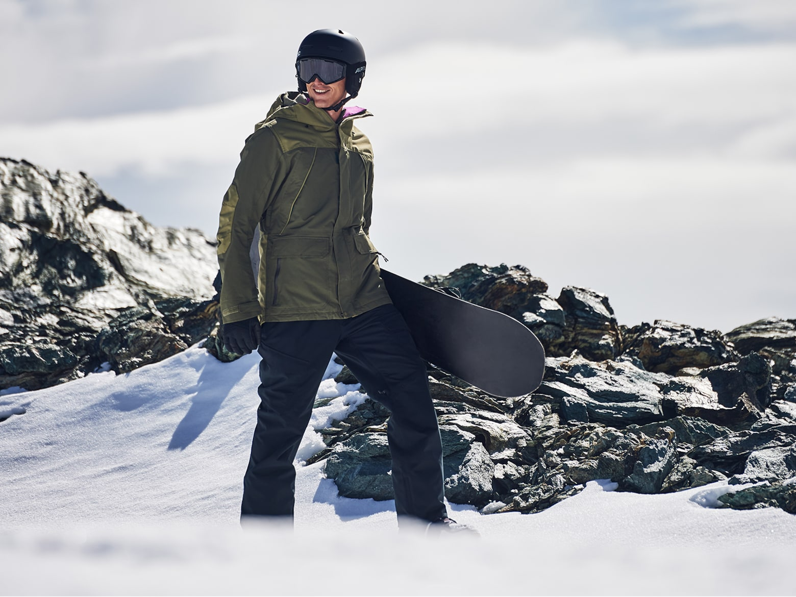 Snowboard Guide Jacken