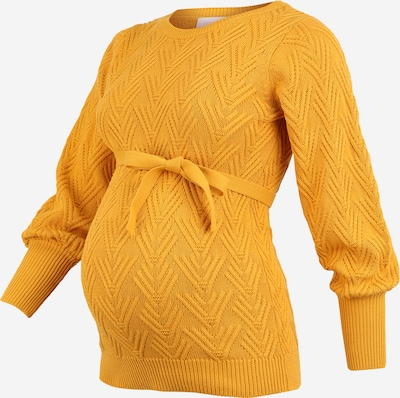 MAMALICIOUS Pullover 'Marianna' in gelb: Frontalansicht