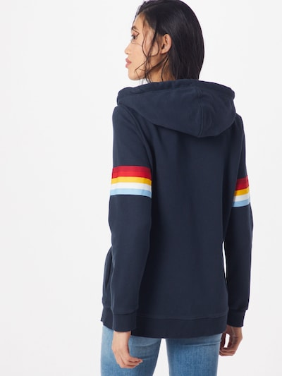 Superdry Sweatjacke 'RETRO ZIPHOOD' in navy: Rückansicht