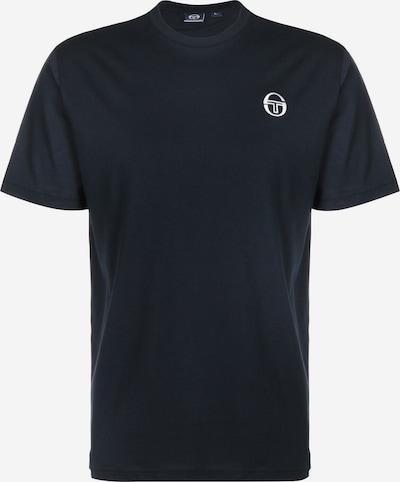 Sergio Tacchini Sportshirt in dunkelblau / weiß, Produktansicht