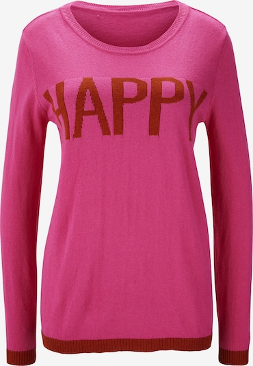 Megztinis iš heine , spalva - rožinė / karmino raudona, Prekių apžvalga