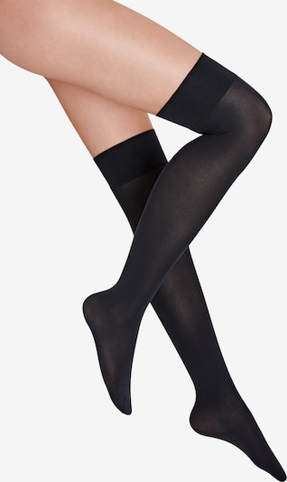 Wolford Overknee socks 'Velvet 80 Overknees' in Black, Item view