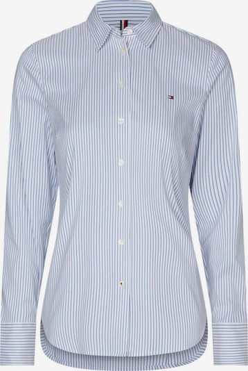 TOMMY HILFIGER Bluse 'Sally' in pastellblau / weiß, Produktansicht