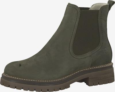 TAMARIS Chelsea boots in de kleur Groen, Productweergave