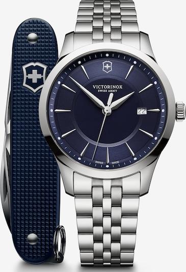 VICTORINOX Analoog horloge 'Alliance' in de kleur Nachtblauw / Zilver, Productweergave