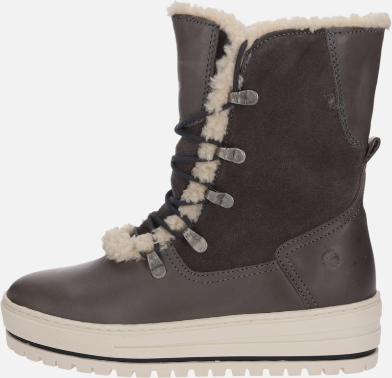 TAMARIS Stiefel 'Snowboots' in taupe | ABOUT YOU