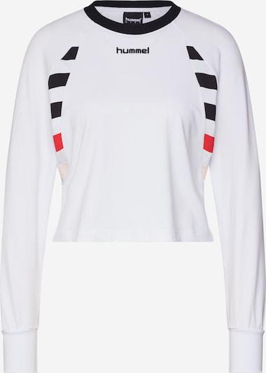 Tricou hummel hive pe alb, Vizualizare produs