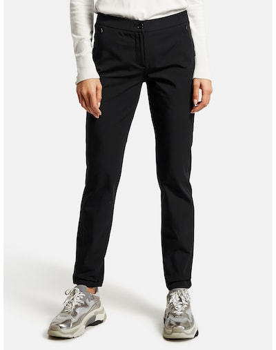 TAIFUN Pants in Black, View model