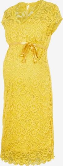 MAMALICIOUS Umstandskleid in gelb, Produktansicht