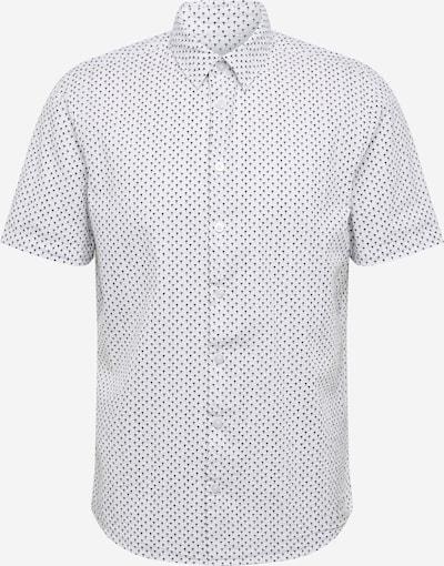 Casual Friday Hemd in schwarz / weiß, Produktansicht
