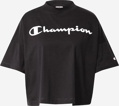 Champion Authentic Athletic Apparel Koszulka w kolorze czarny / białym: Widok z przodu