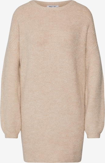 ABOUT YOU Oversized sweater 'Mina' in sand, Item view