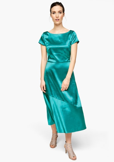 s.Oliver BLACK LABEL Midikleid in aqua, Modelansicht
