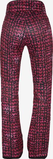 Sportinės kelnės iš CHIEMSEE , spalva - rožinė / juoda: Vaizdas iš galinės pusės