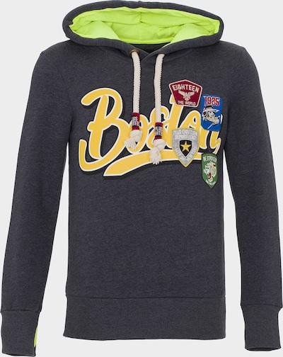 PLUS EIGHTEEN Sweatshirt in de kleur Donkergrijs, Productweergave