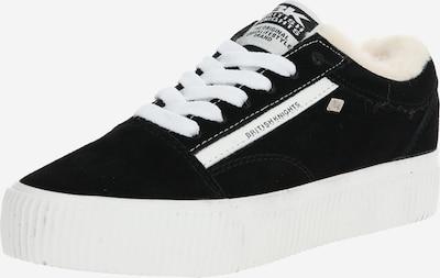 BRITISH KNIGHTS Sneaker 'Mack-Platform' in schwarz / weiß, Produktansicht