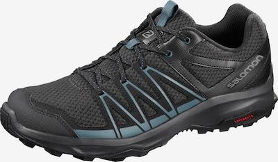 SALOMON Wanderschuh in blau / schwarz, Produktansicht