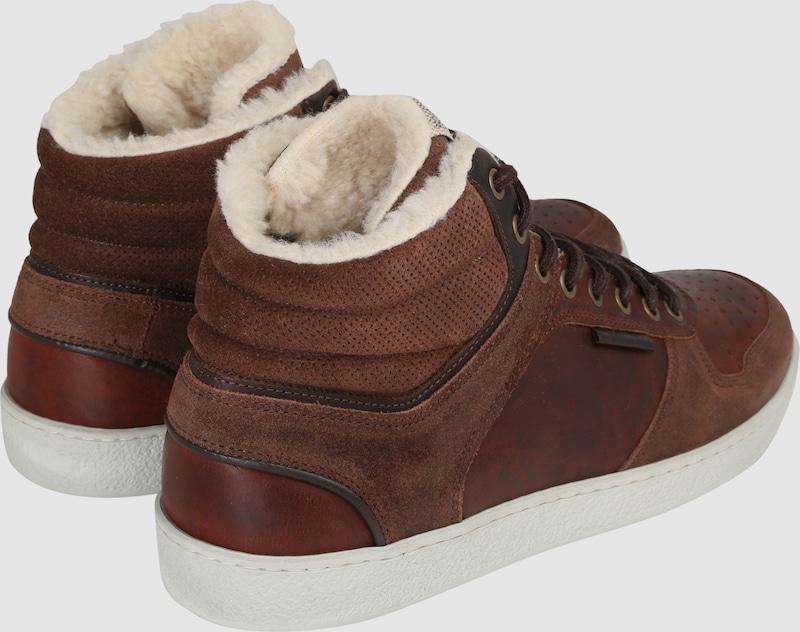 BULLBOXER Gefütterte Sneaker aus Leder