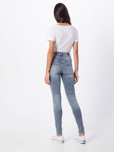 Tommy Jeans Jeansy 'Nora' w kolorze niebieski denimm: Widok od tyłu