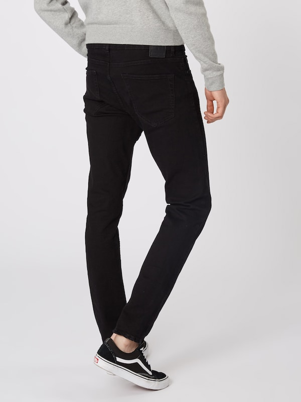 Only & Sons Jeans 'onsLOOM BLACK DCC 0448 NOOS' in black denim: Rückansicht