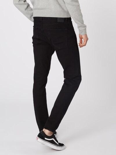 Jeans 'onsLOOM BLACK DCC 0448 NOOS' Only & Sons pe denim negru: Privire spate