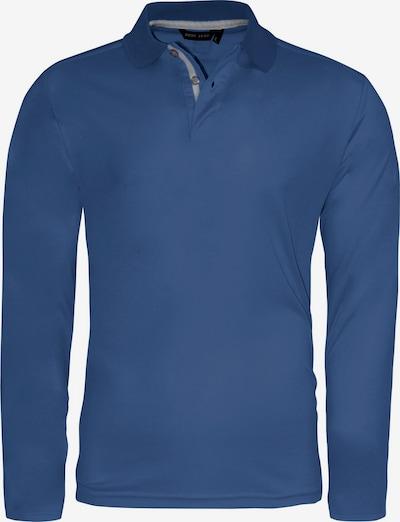 CODE-ZERO Poloshirt 'JIB' in blau: Frontalansicht