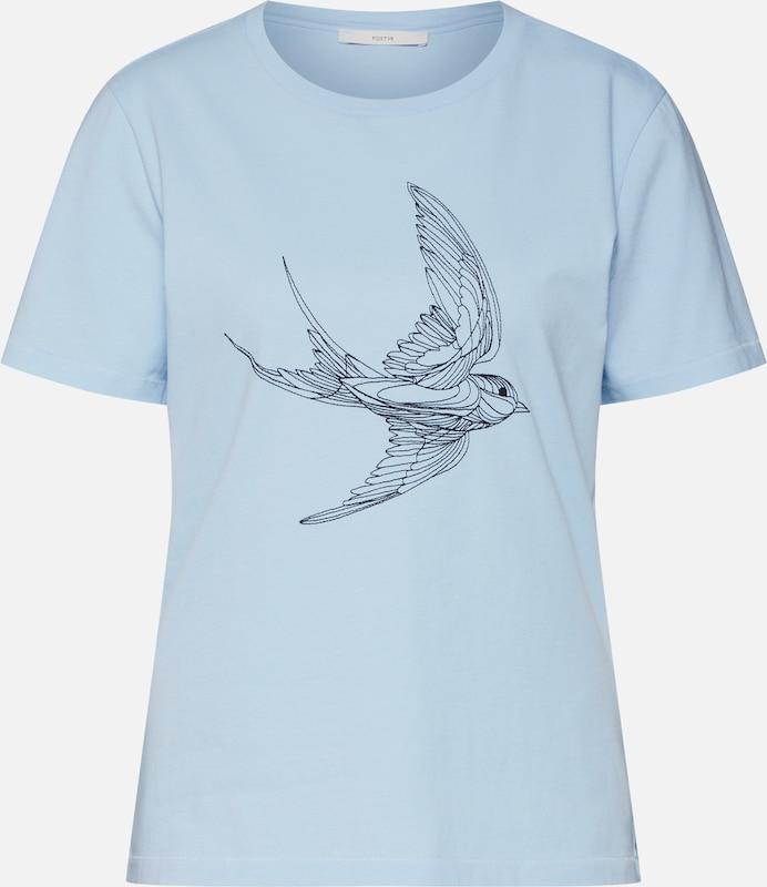 POSTYR T-Shirt 'ISABELLA' in in in blau  Freizeit, schlank, schlank 9f736e