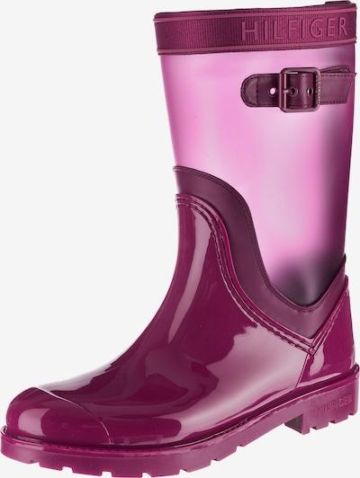 TOMMY HILFIGER Gummistiefel 'Oxford' in pink, Produktansicht