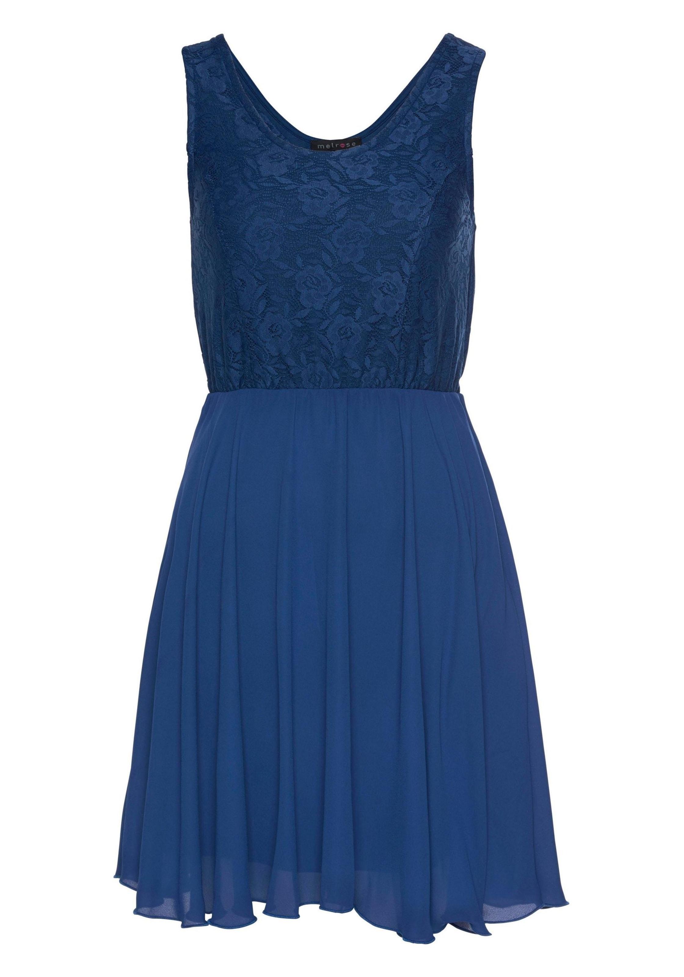 BlauRoyalblau Melrose In In Kleid Melrose Kleid xBodCe