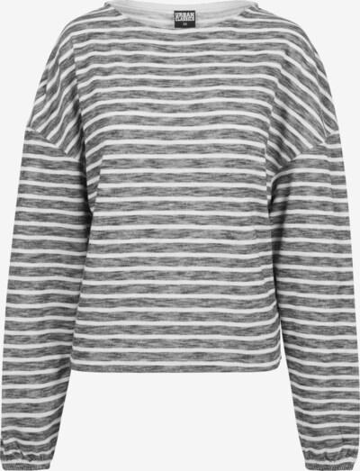 Urban Classics Oversized trui in de kleur Zwart gemêleerd / Wit, Productweergave
