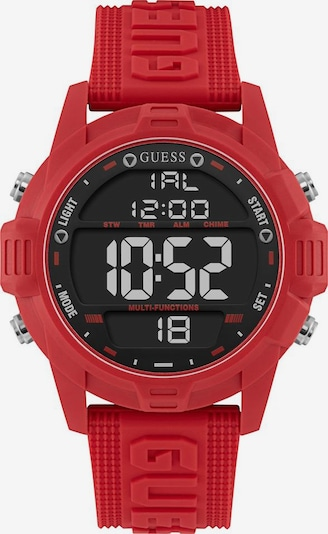 GUESS Digitaluhr 'Charge W1299G3' in rot, Produktansicht
