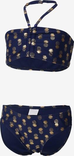 COLOR KIDS Bikini 'Numa' in navy / gold, Produktansicht